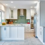 Ideas for small kitchen tile backsplash   design