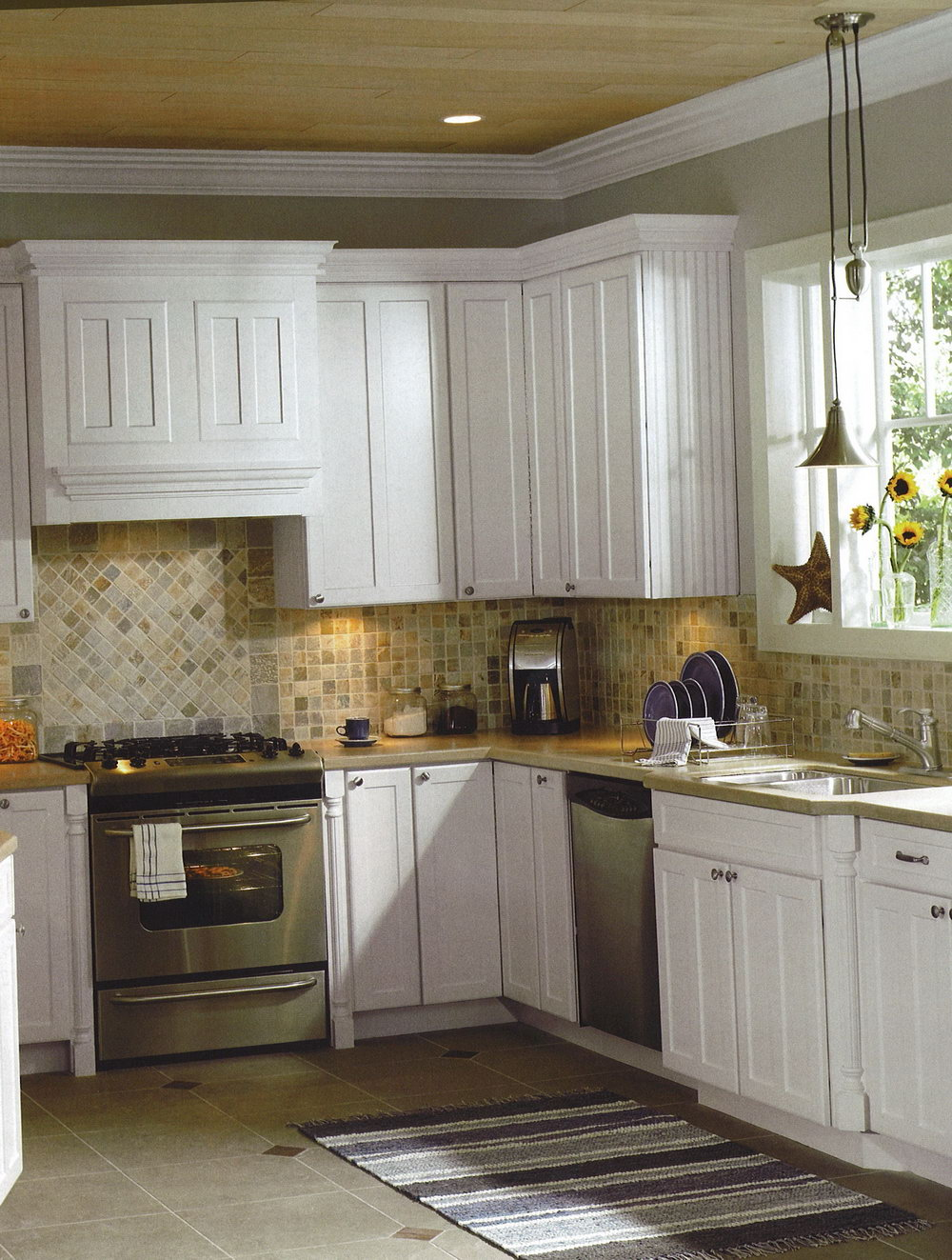 Unique Small Kitchen Backsplash Ideas Designs Travertine Whitele With White  Cabinets Modern Design Galley Tile Tiles