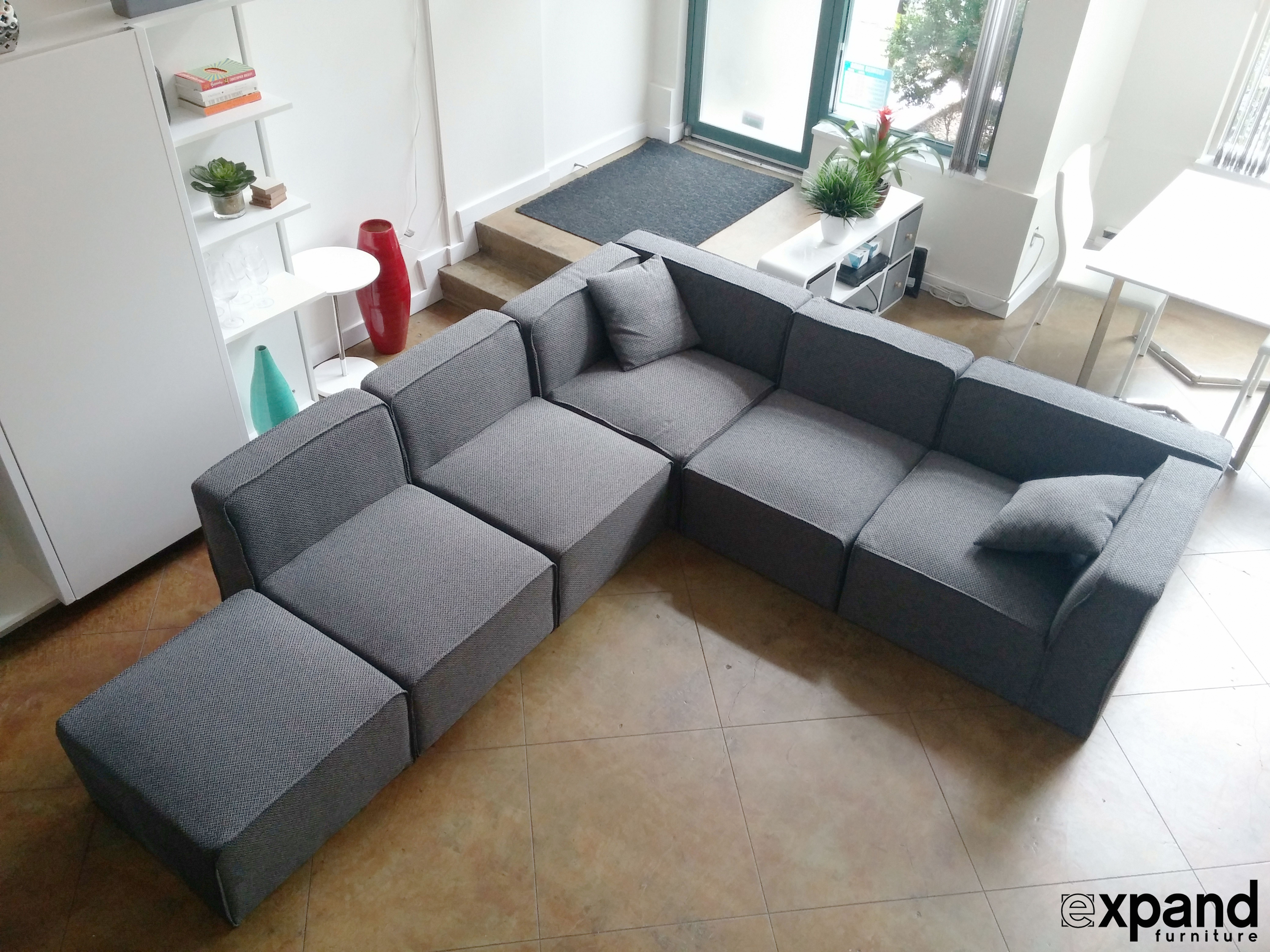 Immaculate Small Modular Sectional Sofa For Your Residence Decor: Living  Room : Modular Sofas For