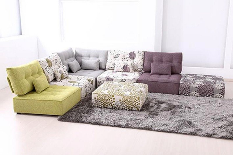 Small modular sectional sofa