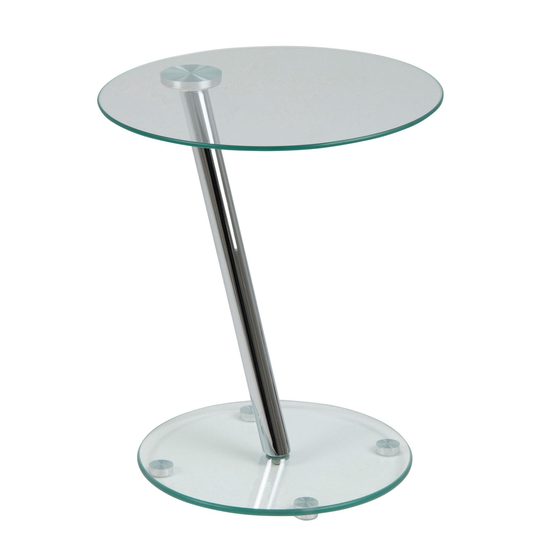 Should you buy a small round glass side   table ?