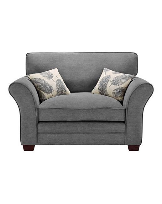 Freya Cuddle Chair   J D Williams