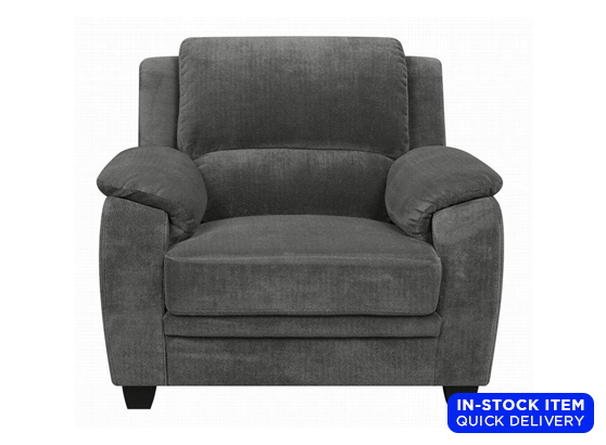 Sales - Living : Snuggle Chair in Dark Gray