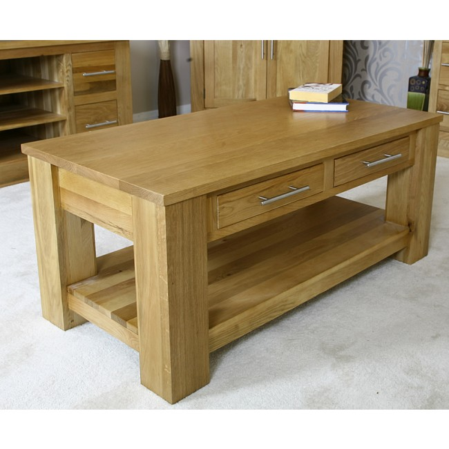 Delamere Solid Oak Coffee Table