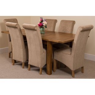Oak Dining Table And 6 Chairs | Wayfair.co.uk