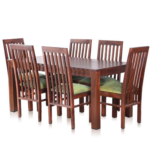 Bombay Solid Wood Dining Table with 6 Chairs - MyNestHome Dot Com