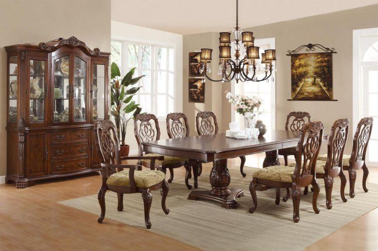 Lovable Solid Wood Formal Dining Room Sets Small Formal Dining Room  Contemporary Formal Dining