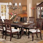 Solid wood formal dining room sets for   better look