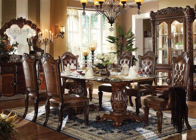Formal dining room sets is good dinette table sets is good solid wood  dining room sets