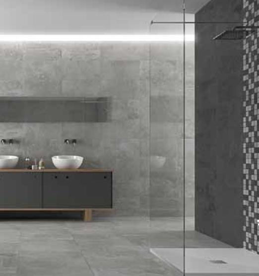 G2-ST1 Grey Stone look porcelain tile - RAI Designs