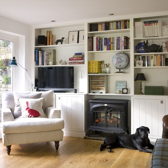 Small Living Room Storage Ideas photo - 1