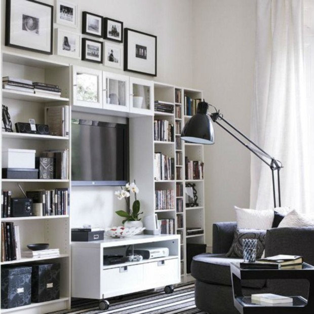 Storage-solutions-for-small-spaces—living-room
