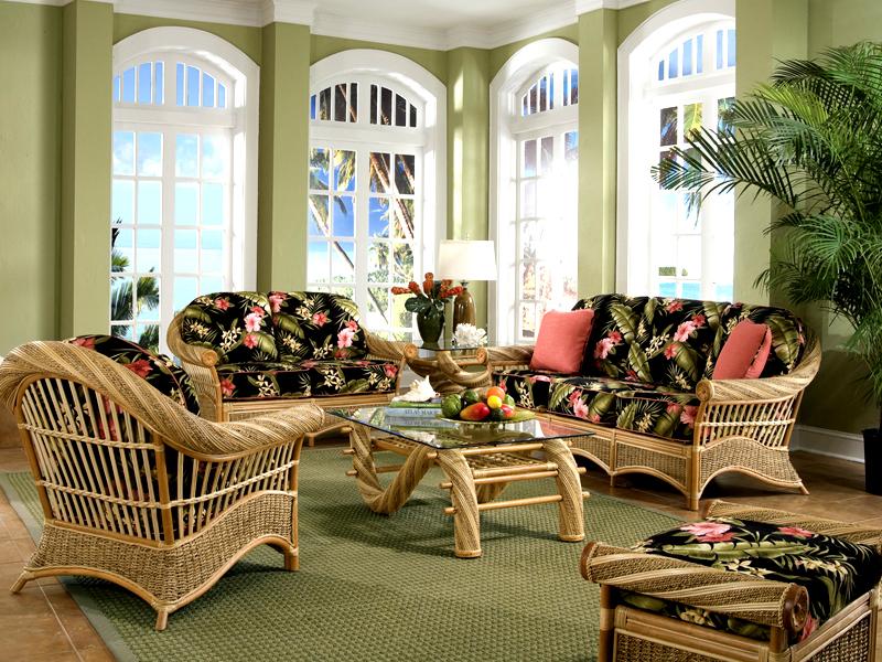 Image of: Ideas Indoor Sunroom Furniture Sets