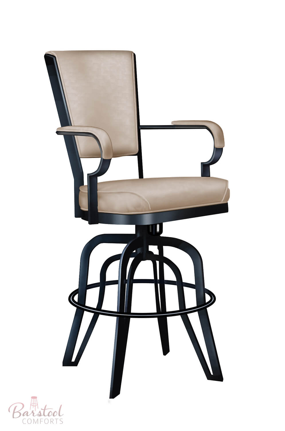 Lisa Furniture #2545 – Rocking Tilt Swivel Bar Stool