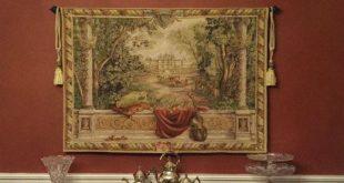 Large horizontal tapestry wall-hangings