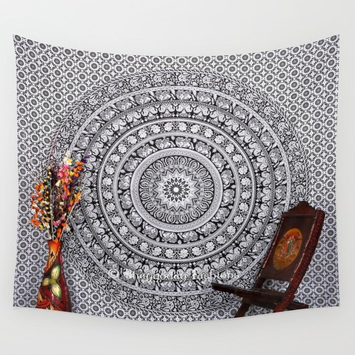 How tapestry wall hangings can change the   look and feel of your house.