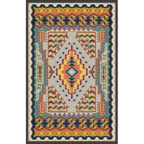 Pure Country Weavers Southwest Turquoise Tapestry Wall Hanging