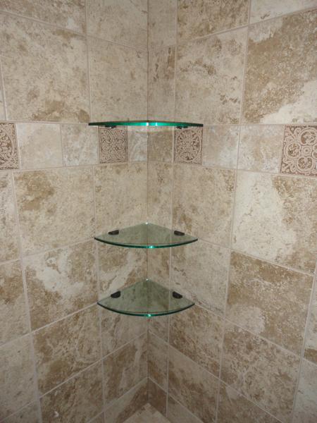 Tempered Glass Shower Shelf Glass Shower Shelves Corner