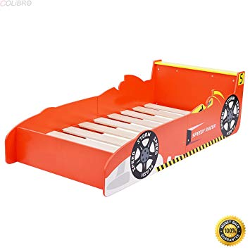 Amazon.com : COLIBROX-Kids Race Car Bed Toddler Bed Boys Child