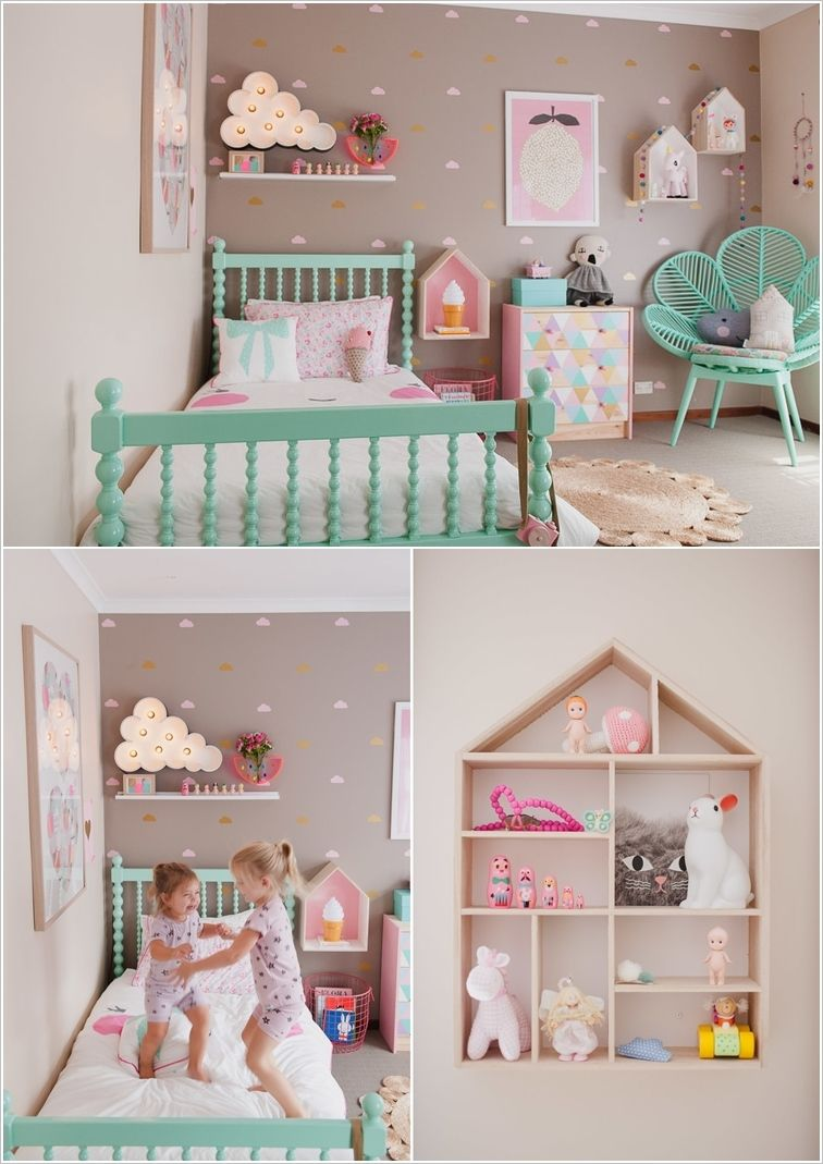 For you best cool toddler girls room   decor ideas