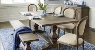 Furniture Tristan Trestle Dining Furniture Collection, Created for