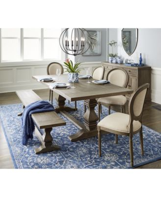 Purchase a trestle dining table with   chairs for your home