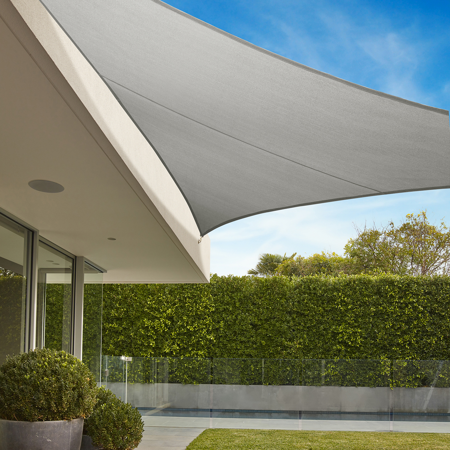 Home · Products; Commercial Grade Triangle Shade Sail