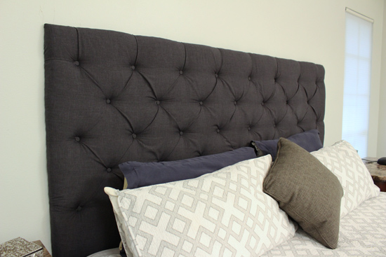 Tufted Upholstered Headboard for King Bed