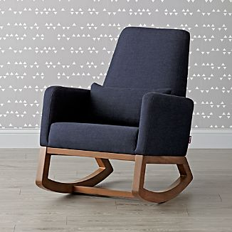 Upholstered Rocking Chairs | Crate and Barrel