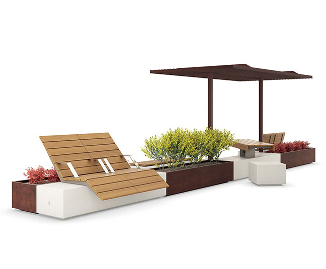 Alterego outdoor furniture collection