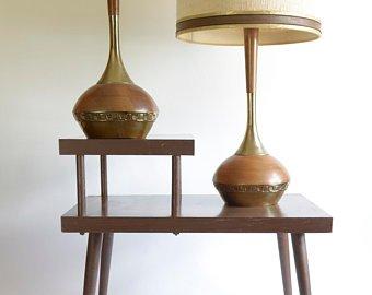 Mid century lamps | Etsy