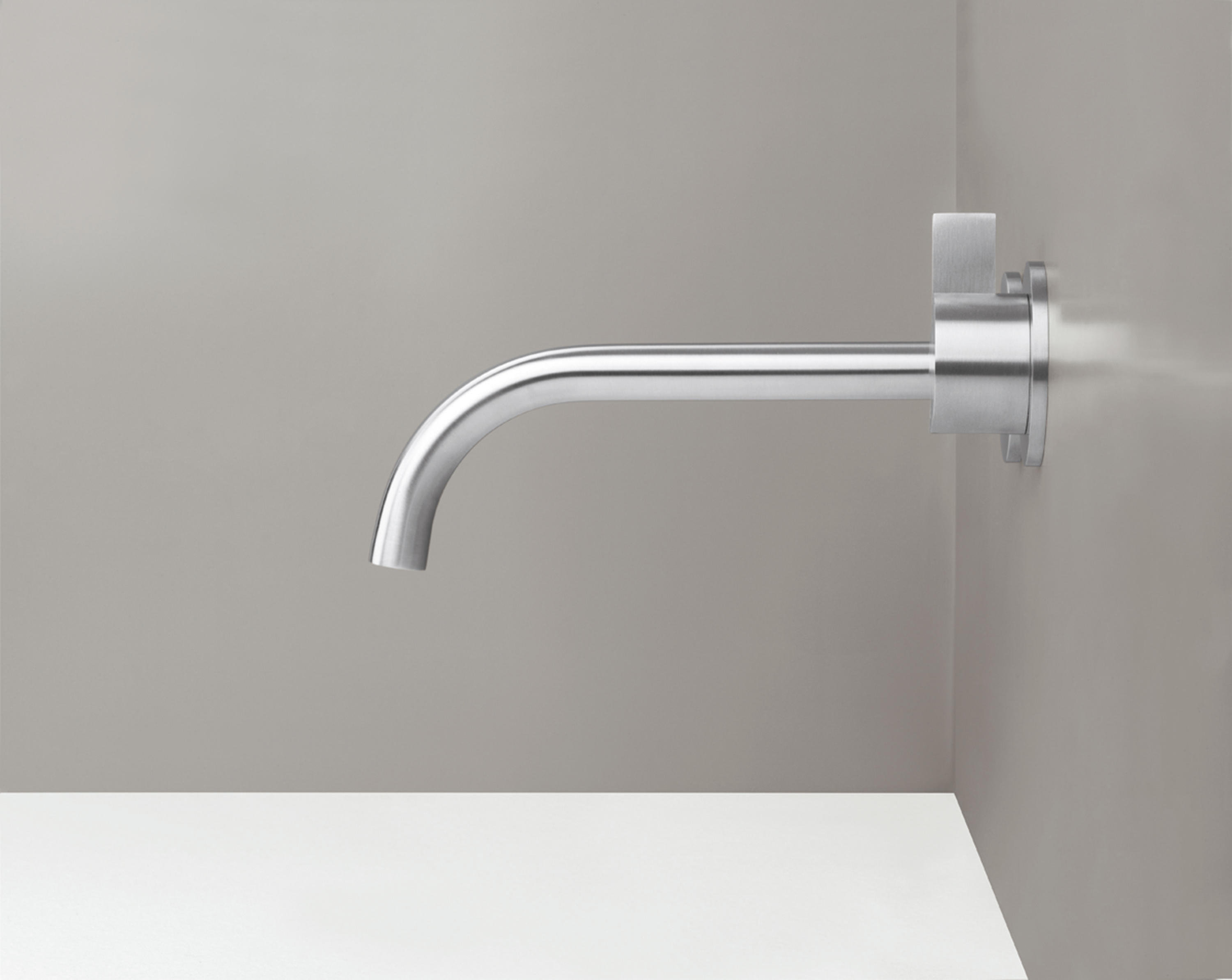 PB SET01 | Wall mounted basin mixer with spout by COCOON | Wash basin  taps