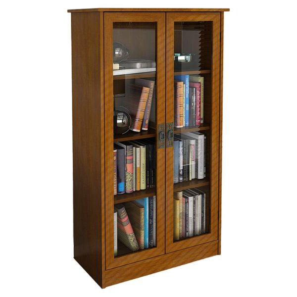 Bookcases with Doors You'll Love | Wayfair