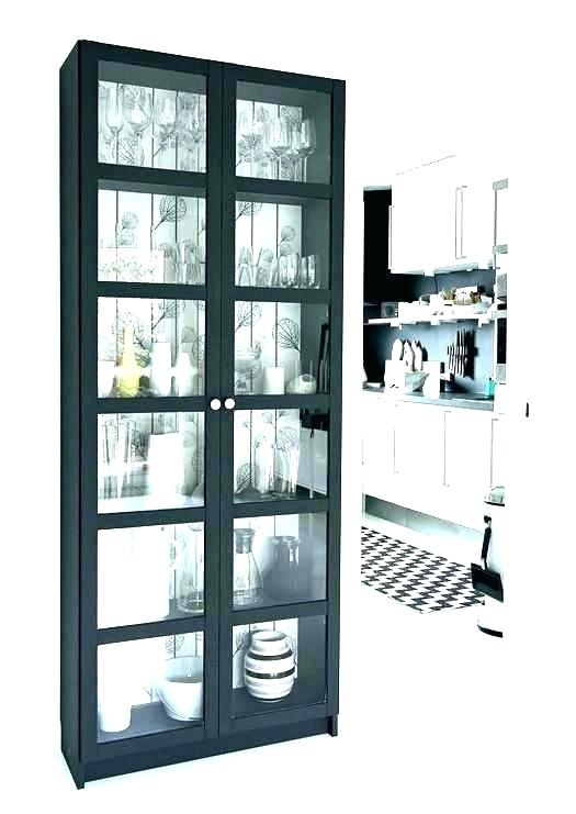 White Bookcase Glass Doors White Bookcase With Glass Doors Bookshelf