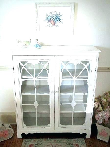 White Bookcase With Glass Doors Clever White Bookcase With Glass