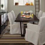 Create your own white dining room white   dining room chair slipcovers