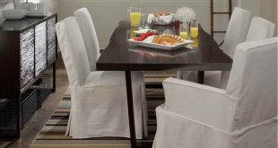 Lovely Innovative Dining Room Chair Slipcovers White white dining room  chair slipcovers