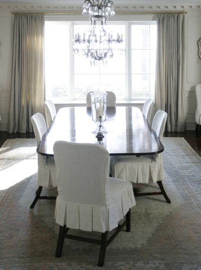 White Dining Chairs Design Ideas