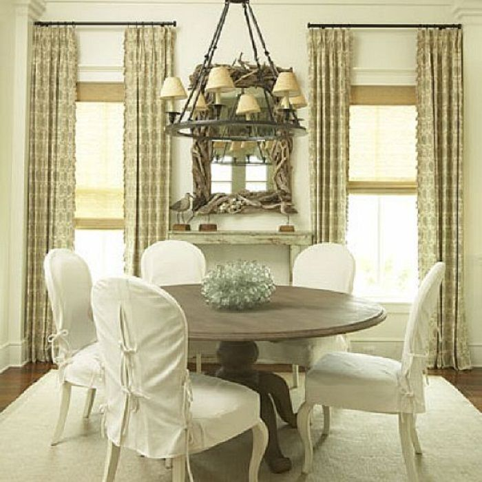 Slipcovers For Dining Chairs White Colors ~ http://Traveller Location/white
