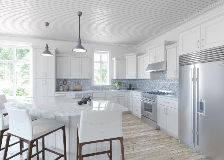 Southport White Shaker Kitchen Cabinets
