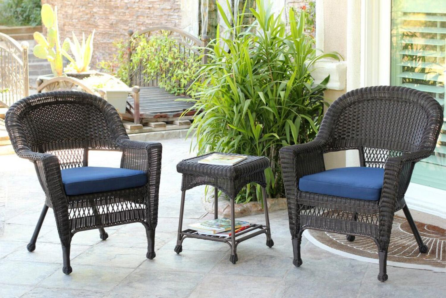 Venus Pub Table Set With Barstools 5 Piece Outdoor Wicker Patio Furniture -  Traveller Location