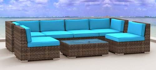 Recommended Wicker Rattan Outdoor Patio Sofa Set | Good home good life