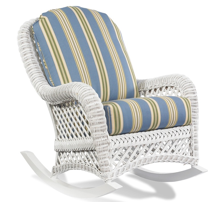 The ultimate comfort – wicker rocking   chair cushions
