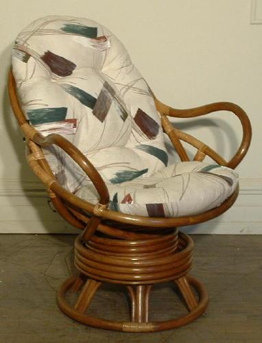 Rattan Swivel Chair Cushion. Swivel Rocker Cushion