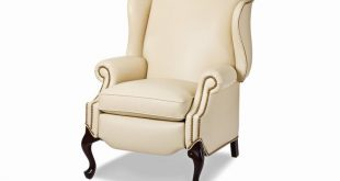 Hancock and Moore Living Room Alexander Wing Chair Recliner 1006