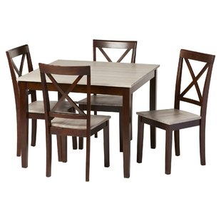 Tilley Rustic 5 Piece Dining Set