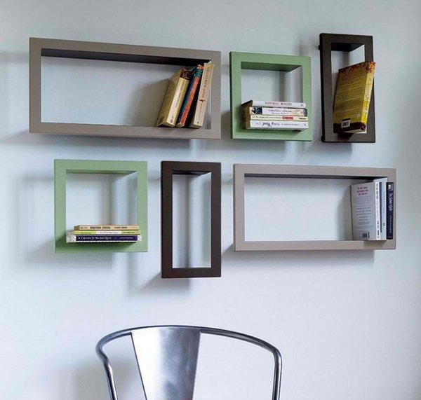 Some ideas for wood shelves design