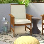Stylish wooden chairs with cushions for   your home