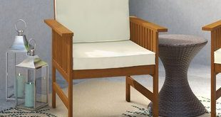 Wooden Chairs With Cushions | Wayfair