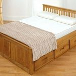 What are the benefits of wooden double   beds with storage drawers ?